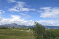 View to Beinn na Caillich